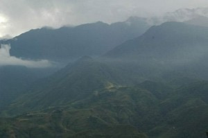 Sapa, lost in the mists