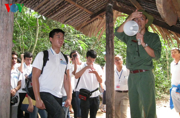 Cu Chi tunnels an underground tourist attraction