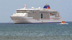 MS Europa 2 brings visitors to Phu Quoc island