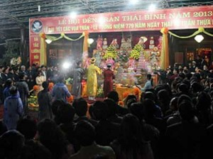 Tran Temple Festival receives national heritage honour