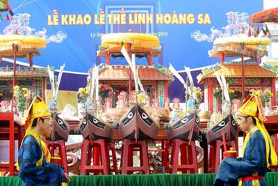Feast and Commemoration Festival for Hoang Sa soldiers