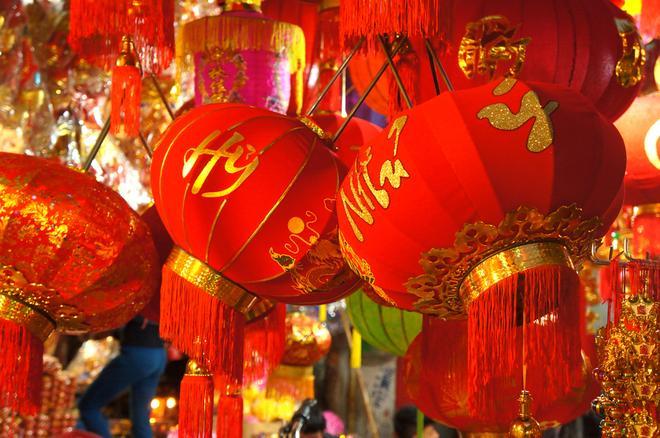I souvenir che caratterizzano Vietnamita Tet-3
