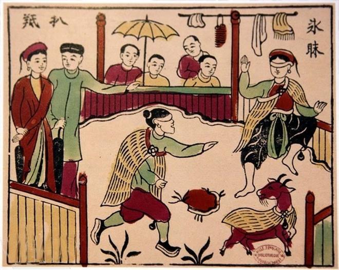 I souvenir che caratterizzano Vietnamita Tet-7