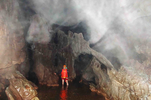 Multi-million year-old fossil found in Quang Binh's Dark Cave