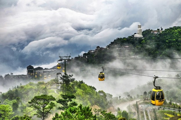 Ba Na- the world's highest and longest cable car in Danang