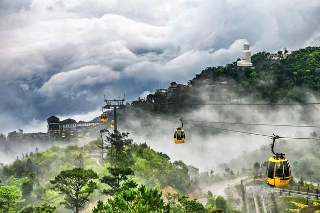仈南- 世界上海拔最高和最长的缆车在岘港