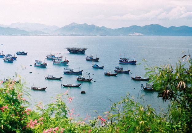 迷人的芽庄市 (庆Hmoong / Flickr网站: hmoong)
