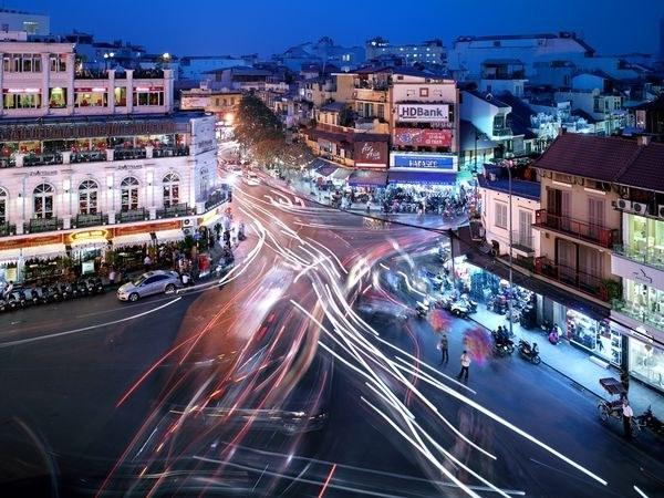 河内的动态首都 (照片: 贾斯廷·瓜里格利亚 / 通过nationalgeographic.com)