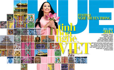 Hue festival spotlights traditional crafts