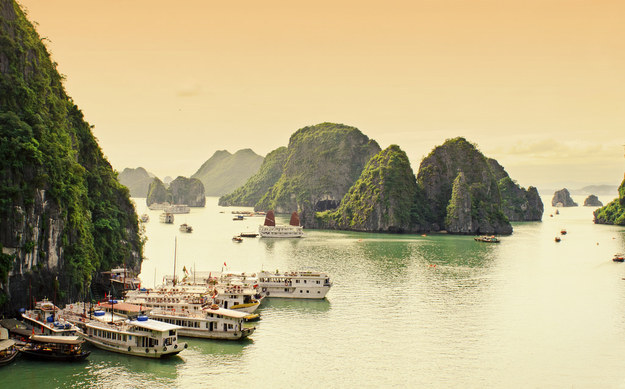 Die Kalkstein-Inseln Ha Long Bay (Nathan O'Nions / via Flickr: nathanoliverphotography)