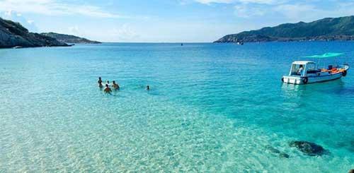 Binh Ba island in Khanh Hoa province