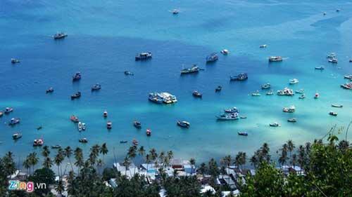 Nam Du island in Kien Giang province