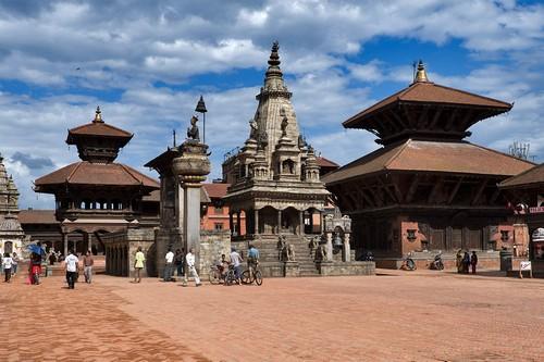 Bhaktapur au Népal