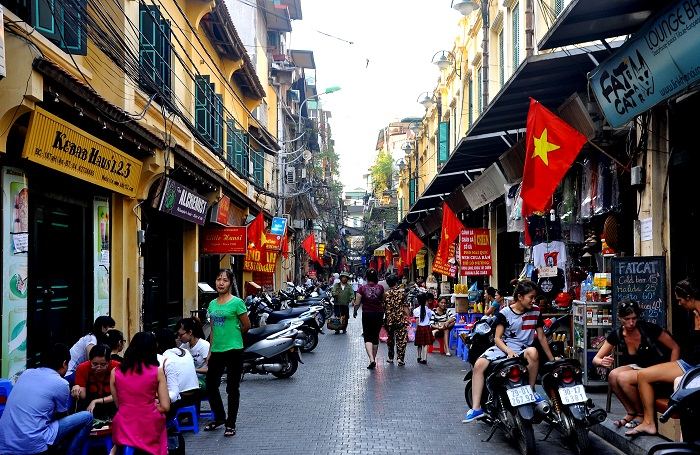 The streets for foreign visitors in Vietnam-01