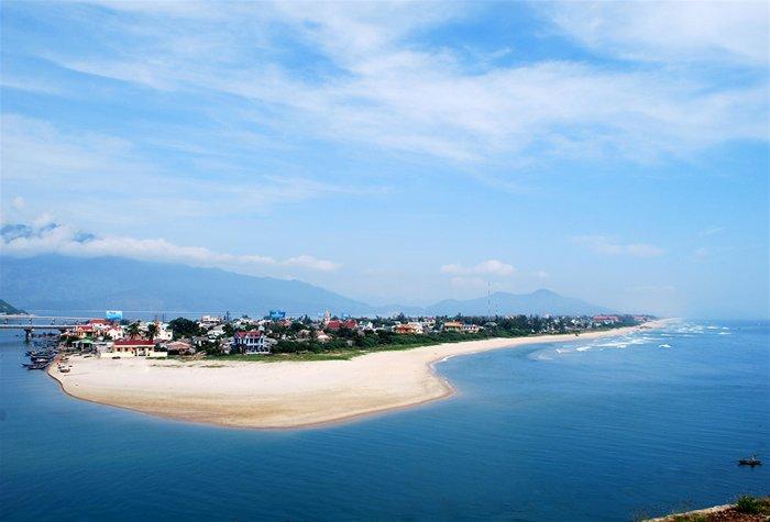 Plage baie de Lang Co