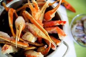 Shrimp on Crab Legs