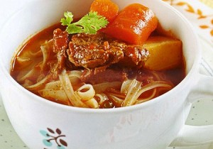 Vietnamese Pho with Beef Stew