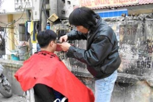 A Hanoi Haircut- Street Style