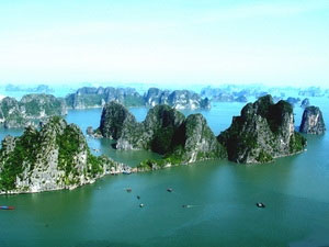 Ha Long Bay, one of the world's most dramatic coasts