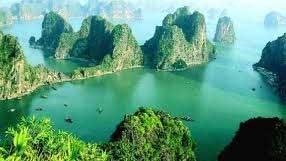 Ba Mun Island - green pearl in Bai Tu Long Bay