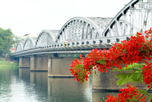 Hue's ancient bridge of Truong Tien