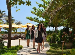 Tourism businesses in Ba Ria - Vung Tau focus on developing green tourism