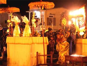 Traditional royal ritual held in ancient capital Hue