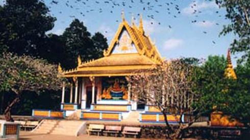 Doi pagoda of the Khmer