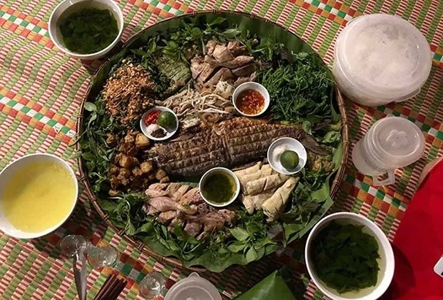 Unique dishes in the upland area of Lam Binh
